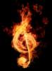 огонь, музыка