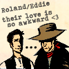 the female ghost of tom joad: dark tower roland/eddie <3