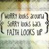 Elle Blessingway: Spiritual: Faith Looks Up