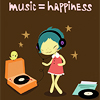 music = happiness