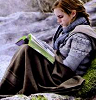 Rilla: Hermione reading
