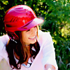 it's a secret: [actress] -- SK; helmet