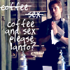 coffee/sex