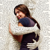 books - hugged by words