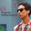 community abed movie reference