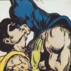batman--robin (kiss passionate)