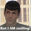 inu_spockya: nuspock is smiling