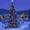 paloma1182: x-mas tree blue