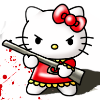 Hello Kitty is evil