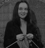 Knitting: Morticia