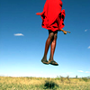 Africa red jump