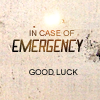 yappichick: Text: In case of emergency