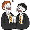 Harry Potter - Harrry/Ron Guy Love