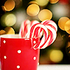Candycane cup