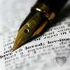 Book & Pen - 'Love, Loved, Loving'
