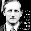 how the milk got into the coco-nut, how the milk got into the coconut