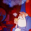 Disney- Merlins beard!