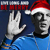 Little Red: trek - xmas spock