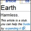 h2g2, harmless