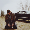 degenerate, young rebel, and i'm proud of it: spn; dean kneeling by impala