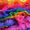 Разноцветный шёлк