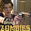 zombies, resident evil alice