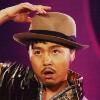 Hikaru: Tsuyoshi with hat