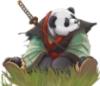 панда-самурай