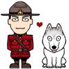nessreader: mountie hearts wolf