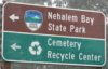 Jay Lake: signs-cemetery_recycling-center