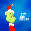 dee: Grinch not impressed