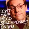 haruechan: Daniel - space monkey
