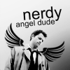 Patent Counsel for Adrian Veidt and Tony Stark: SPN Castiel Nerdy Angel Dude