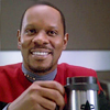 Sisko - raktajino and a smile