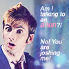 Nightingale: dr who talking to an alien