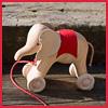 слоник на колесиках