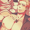 hetalia, doitsu, shirtless, ludwig, germany