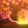 tangled - rapunzel lantern