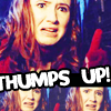 amy pond thumbs up