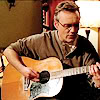 giles with guitar