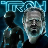 TRON Kevin and blue Tron legacy