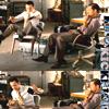 "Inception- Arthur and Eames ""Kick"""