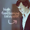 BrightEyes: Sherlock: Sherlock is high-functioning