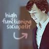 BrightEyes: Sherlock: Sherlock is high-functioning