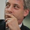 John Bercow MP: posing