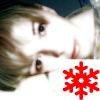 Красная снежинка