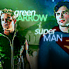 superman--green arrow (together as heroe