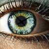 Greeneyed clock