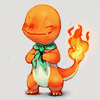hey stranger I want you to catch me like a cold: [pokemon] charmander scarfie