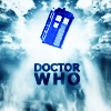 Doctor Who Tardis title by lessrest